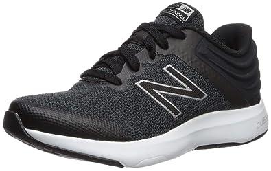 New Balance Women's Ralaxa V1 CUSH + Walking Shoe Black/Silver  Metallic/White 9 D US