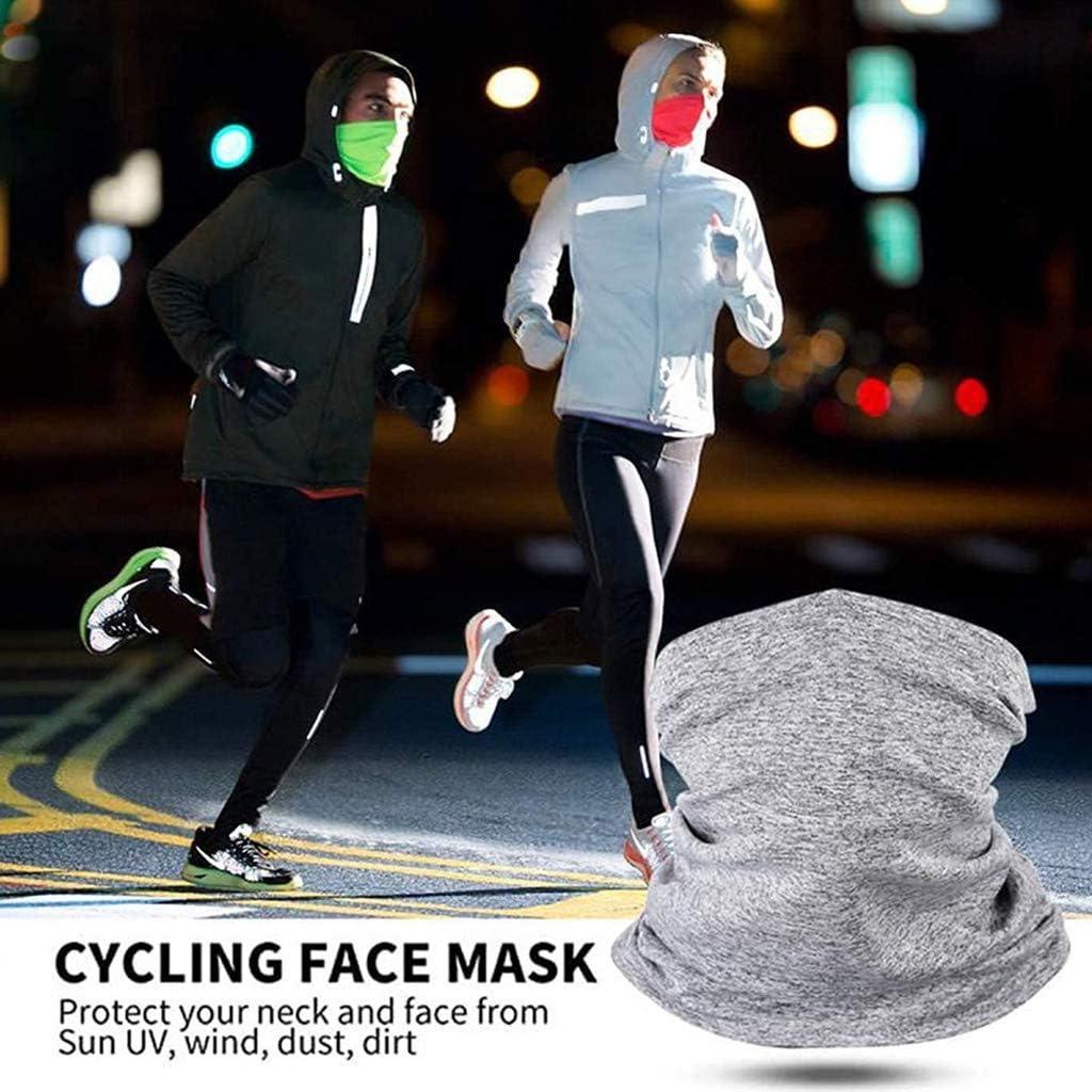 Mr.Better Unisex Halsmanschette Mit PM2.5 Filtern Radfahren Bandanas Staubdichter Gesichtsschutzschal