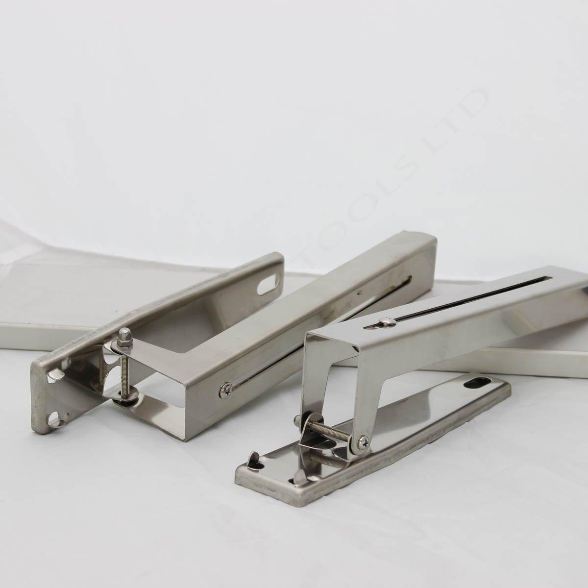 507251 supporti angolari in acciaio inox per ripiano forni a microonde