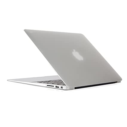 Moshi iGlaze Hard Case Compatible with MacBook Air 13 inch Translucent/Clear