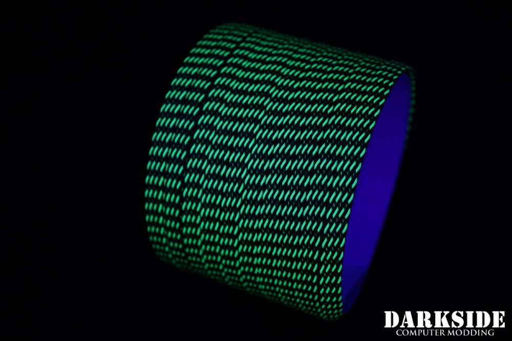 Darkside 6mm (1/4'') High Density Cable Sleeving - Commando II UV (DS-0766)