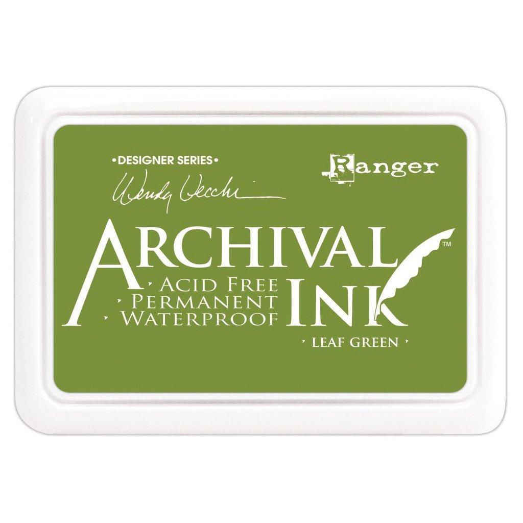 Ranger AID-41436 Leaf Green Wendy Vecchi Designer Series Archival Ink Pad