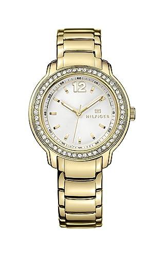 Tommy Hilfiger 1781467 - Reloj de pulsera mujer, color dorado: Amazon.es: Relojes