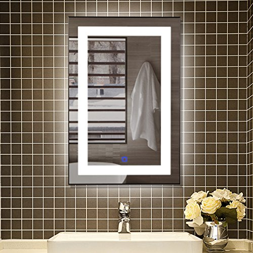 smartrun-Square-Wall-Mounted-Backlit-LED-Mirror-With-Anti-fog-and-Touch-Button