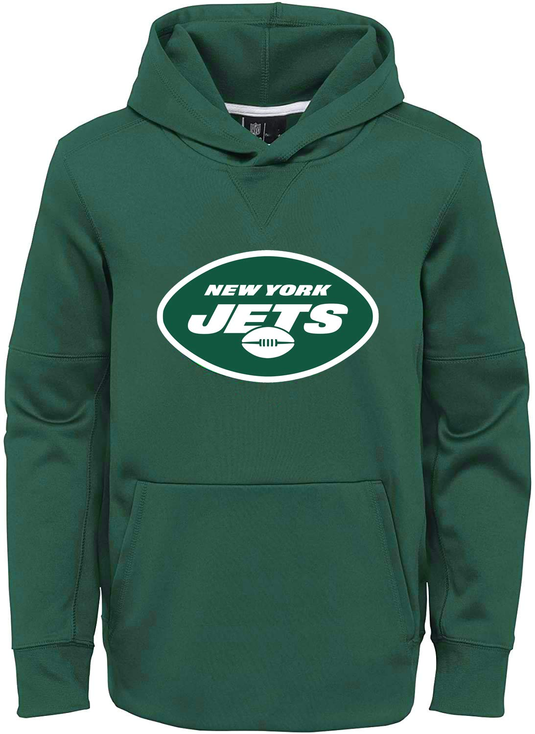 OuterStuff NFL Youth 8-20 Primary Logo Performance Circuit Pullover Hoodie