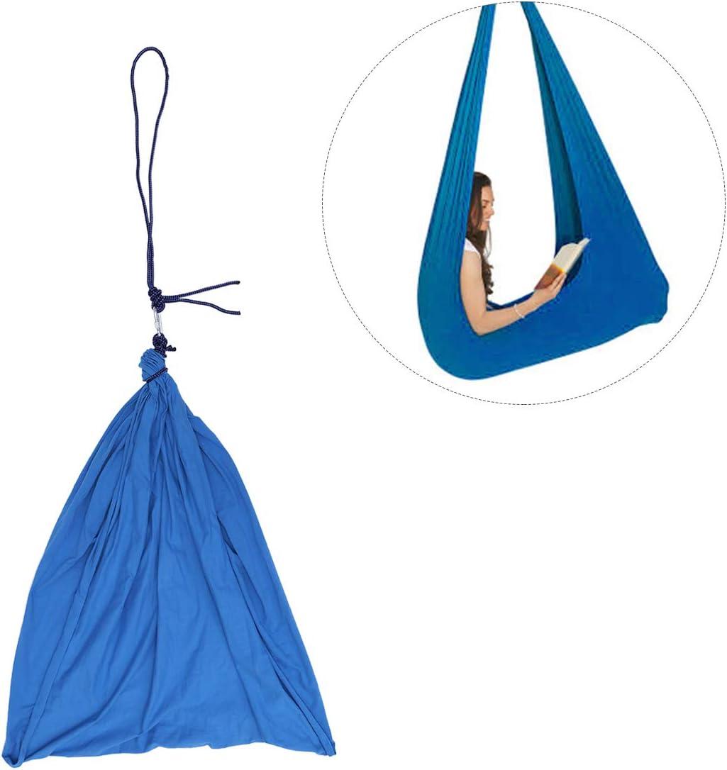 Color : Black, Size : 100x280cm//39x110in Mit Besonderen Bed/ürfnissen Yoga G/ürtel for Yoga Ausbildung Anti-Schwerkraft Pilates Sensorischen Schaukel Therapie Schaukel for Kinder