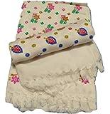 Cotton Colors 100% Cotton Bath Towels(Size: 30 * 60 Inches)-Pack of 2 Pieces,D54