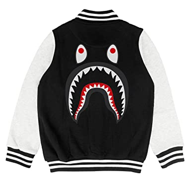 0311592fa Amazon.com: Kids Shark PONR TEE Mens Little Boys Training Jacket for Girls  Boys Cool Soft Coats: Clothing