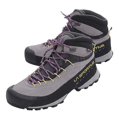 La Sportiva Tx4 Mid Woman GTX Grey/Purple, Botas de Senderismo para Mujer: Amazon.es: Zapatos y complementos