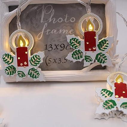 Cadena De Luces De Navidad Led Luces Navideñas De Batería