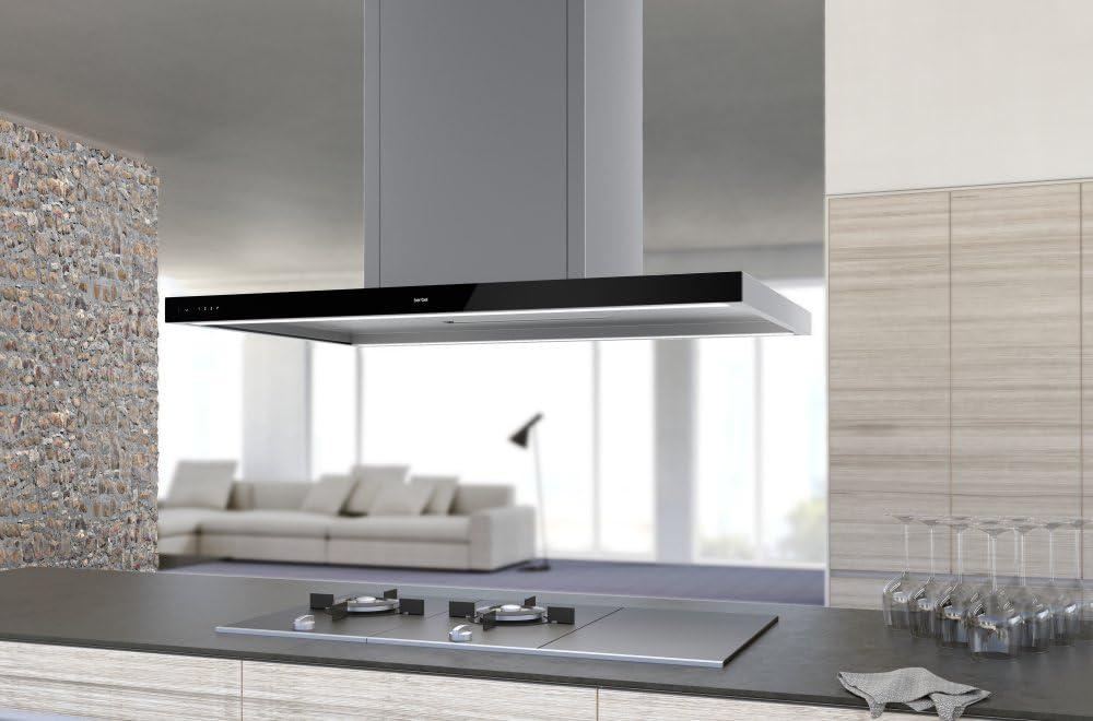 berbel Isla Campana Cristal Sportsline BiH 100 GL Acero Inoxidable Cristal: Amazon.es: Grandes electrodomésticos