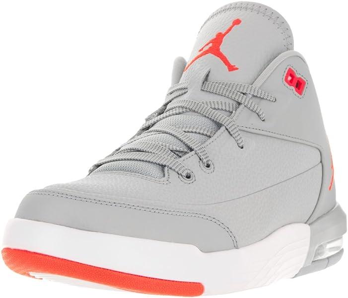 premium selection 80516 e7af1 Nike Herren Jordan Flight Origin 3 Basketballschuhe, Grau (Grau (Wolf  Grey/Infrared 23-White)), 44 EU: Amazon.de: Schuhe & Handtaschen