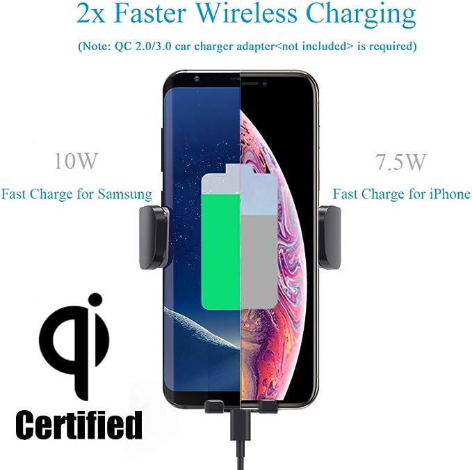 Wireless Car Charger Getränkehalter Für Telefon 2 In 1 Elektronik