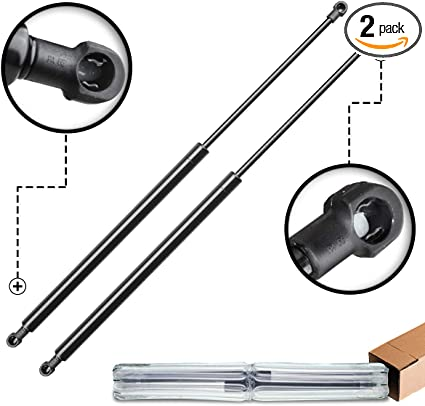 A-Premium Tailgate Rear Hatch Lift Supports Shock Struts for Buick Terraza Uplander 2005-2008 Venture Montana Relay 2-PC Set