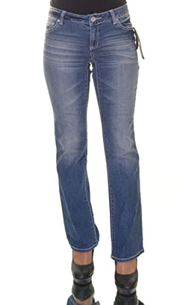 INC Womens Denim Curvy Fit Bootcut Jeans Blue 0 at Amazon Women's ...