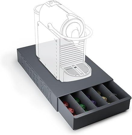 Balvi Coffee Box Boite De Rangement Pour Capsules De Cafe Et Support De Machine A Cafe Amazon Fr Cuisine Maison