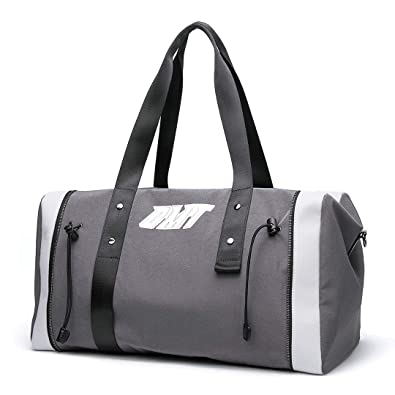 147929c6d97b Amazon.com: OMT Sport Gym Bag, Extra Large Grey Lightweight Tote ...