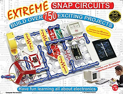 Amazon.com: Snap Circuits Extreme 750-in-1 con interfaz ...