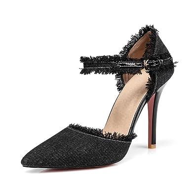 a57f7fc98964 Chic Comfort Plus Women s Janine Pointy Toe Pump Black