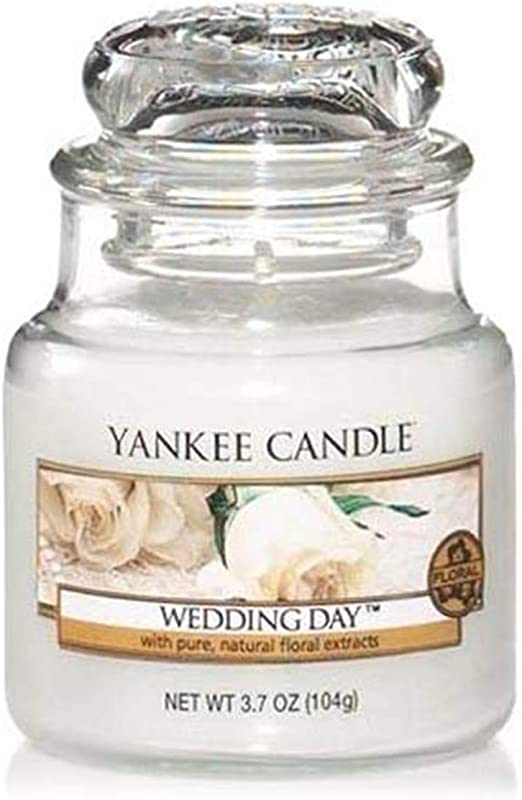 Wedding Day Yankee Candle Small Jar Candle