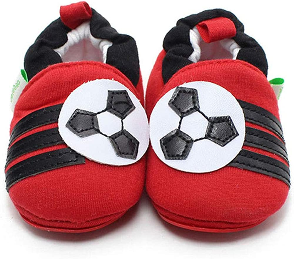 OOSAKU Baby Shoes Infant Toddler Kids Sole Crib Slippers