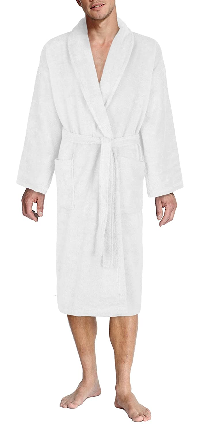 John Christian Luxury Collection - White Terry Towelling Dressing Gown