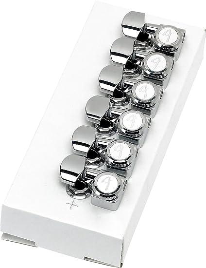 Fender Locking Tuners >> Amazon Com Fender Locking Tuners Left Handed Polished Chrome