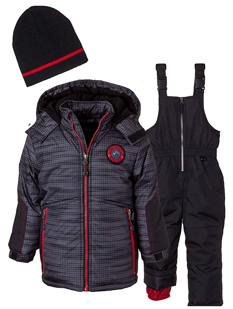 iXTREME Boys Tonal Print Snowsuit Gaiter 98051