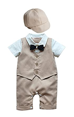 8ad0b43a5dd1 Amazon.com: stylesilove Baby Boy Newborn Infant Toddler Formal Wear ...