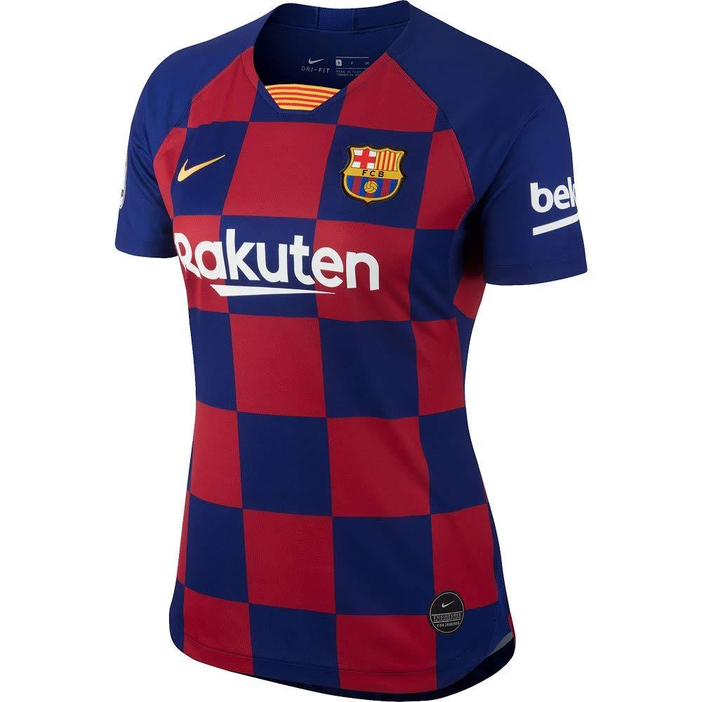 official photos 24e5d 16db7 Amazon.com : Nike 2019-2020 Barcelona Home Ladies Football ...