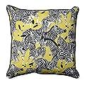 """Pillow Perfect Outdoor/Indoor Herd Together Wasabi Floor Pillow, 25"""""""