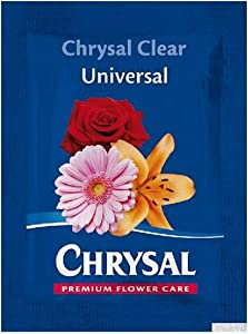 CHRYSAL Clear 200 Piece Universal Flower Food