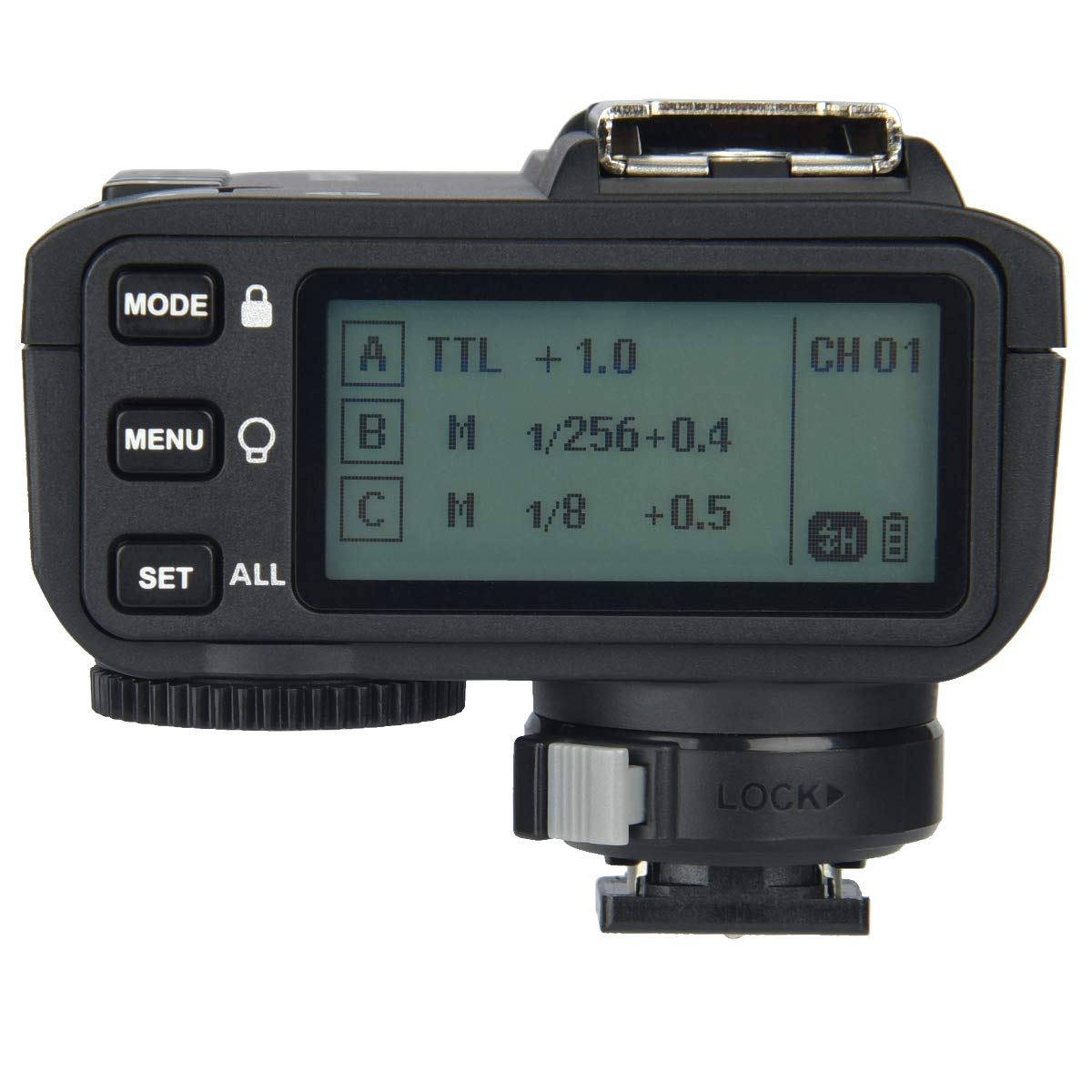 Godox X2T-S TTL Wireless Trigger, 1/8000s High-Speed Sync 2.4G TTL Transmitter, Compatible with Sony DSLR (X2T-S) by Godox (Image #2)