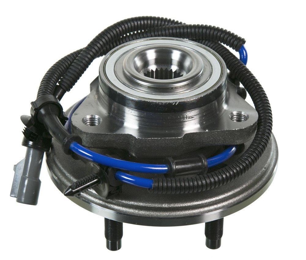 2005 For Ford Explorer Front Wheel Bearing and Hub Assembly x 2 Note: ABS Cable Included 4-Wheel ABS