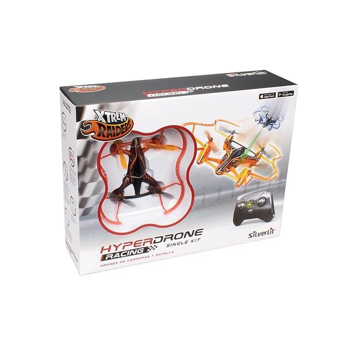 World Brands- Hyper Drone Single Kit, Color Naranja (84780 ...