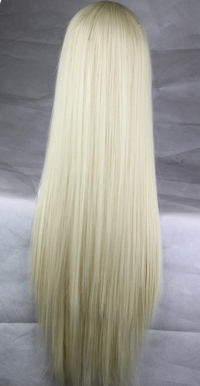 75cm Long Straight Hair No Bangs Heat Resistant Cosplay/Party Full Wigs MOJUN