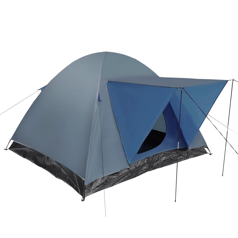 Jago Iglu-Zelt Campingzelt Zelt Kuppelzelt (210/210/130 cm) Wasserdichtes Außenzelt für bis zu 3 Personen in zwei Farbvarianten
