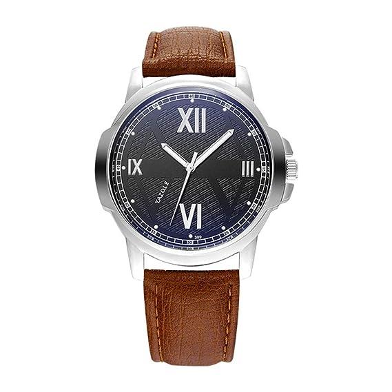 HWCOO Hermoso Relojes de Pulsera 389 yazole Watch 2018 Watch Reloj de Cuarzo BLU-Ray para Hombre (Color : 2): Amazon.es: Relojes