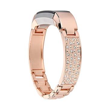 45063dce73476 YPYS Fitbit Alta HR and Alta Bracelet,Metal Band Strap for Fitbit  Alta/Fitbit Alta HR Wristband Bangle