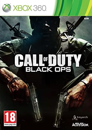 Call Of Duty Black Ops Xbox 360 Amazon Co Uk Pc Video Games