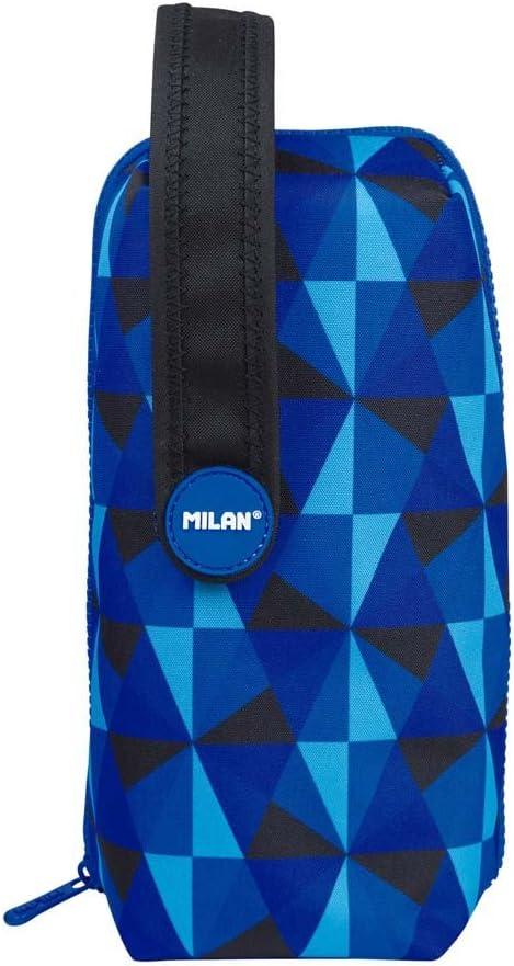 Estuche Milan Blues Handly Multipencilcase 31 Piezas