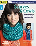 img - for Leisure Arts Knit Scarves and Cowls Book book / textbook / text book