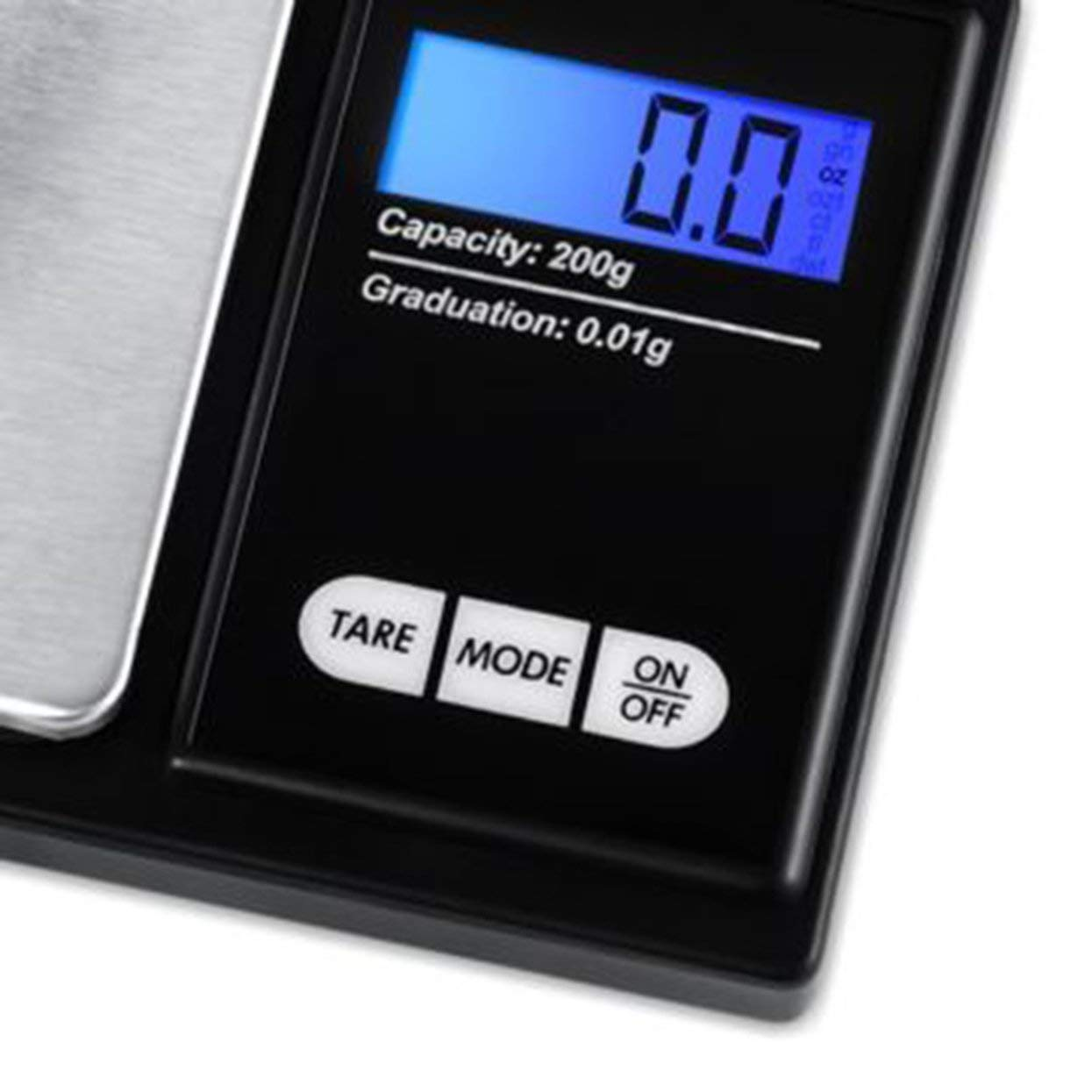 Tree-on-Life Digital Pocket Jewelry Scale 0.01 Mini Precision Electronic Balance Weight Gold Gram Coin Weighing Scales LCD 5 Units
