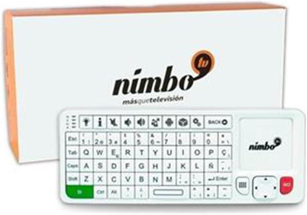 Nimbo Web Kit - Plataforma de contenidos para la televisión, Color Blanco: Amazon.es: Electrónica