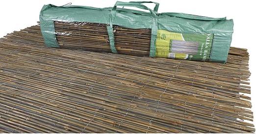 thesecrethome.es Valla OCULTACIÓN Exterior DE Bambu 3 X 1,5 m para JARDÍN O TERRAZA: Amazon.es: Hogar