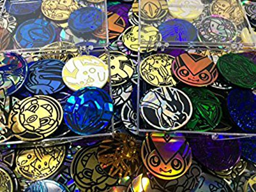 5 Pokemon TCG Flip Coins (Pokemon Coin)