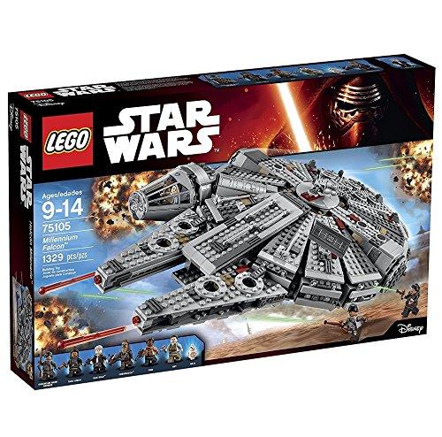 LEGO Star Wars Millennium Falcon 75105 VavRSu, 3 Pack Building Kit