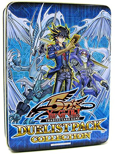 Yu Gi Oh Yusei Duelist Pack - YuGiOh! 5d's 2009 Duelist Pack Collection Tin - Very HOT!