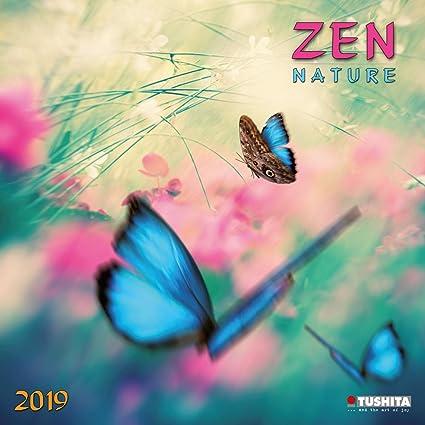 Calendario 2019 Nature Zen - Cascade - flores - árbol ...