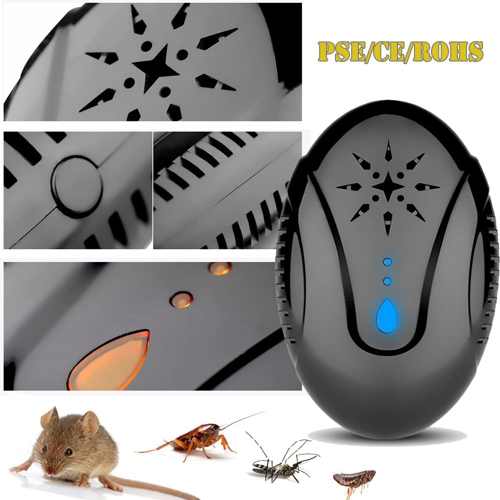 Emopeak Ultrasonic Pest Control Repeller Mosquito Repellent Circuitbest Repellentindoor Plug In Insect For Cockroach Mice Rodents Spiders Flies Moquitos Ants